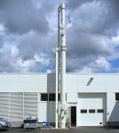 Séparation d'ammoniaque d'un effluent chimique