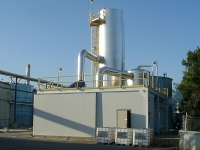 Concentration d'effluents chimique